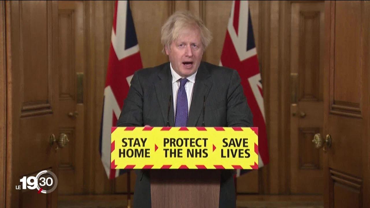 Le variant anglais semble lié à une plus forte mortalité selon une déclaration de Boris Johnson. [RTS]