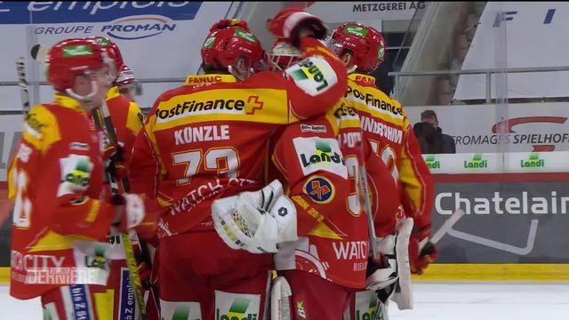 National League, 37e journée: Bienne - Rapperswil (3-1) [RTS]