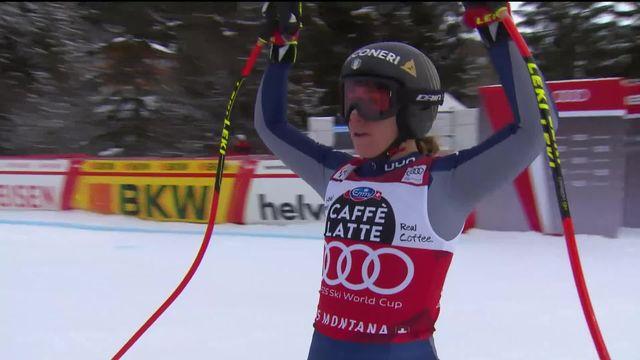 Crans-Montana (SUI), descente dames: victoire de Sofia Goggia (ITA) [RTS]