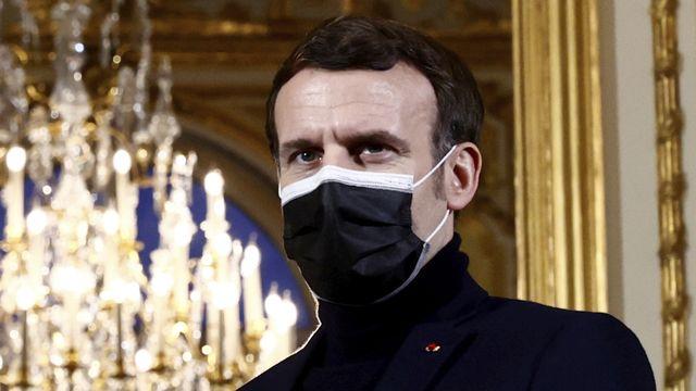 """Les victimes d'inceste """"plus jamais seules"""", déclare Emmanuel Macron. [Christian Hartmann - Keystone/AP]"""
