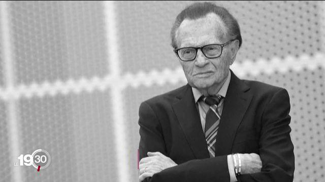 L'animateur vedette de CNN, Larry King, est mort. [RTS]