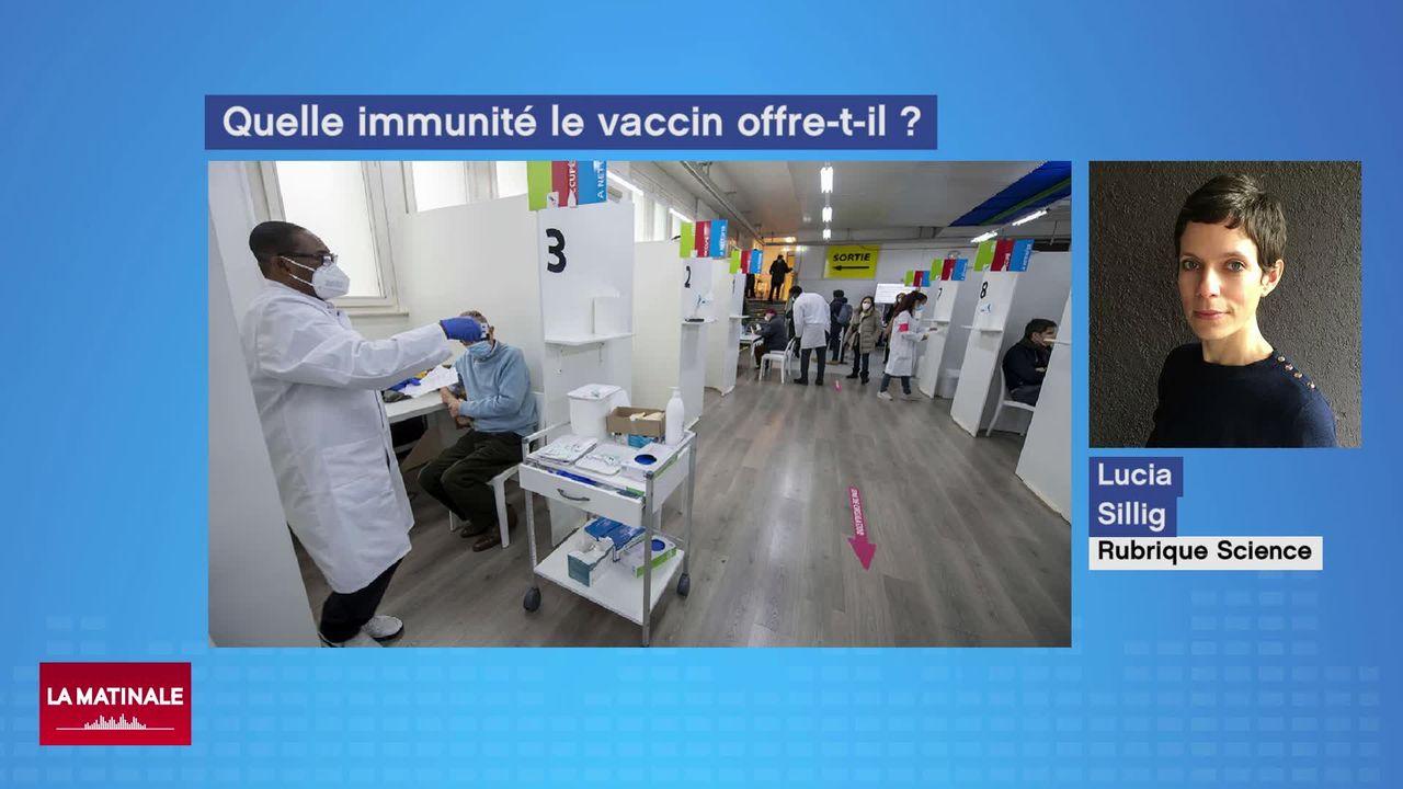 Alors que la vaccination progresse, la question de l'immunité au Covid-19 reste en suspens [RTS]