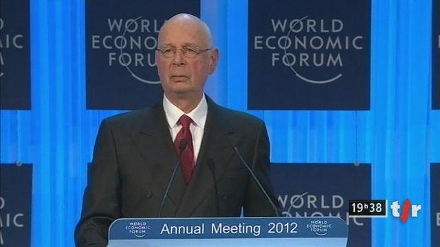 Klaus Schwab appelle à transformer le capitalisme en 2012. [RTS]