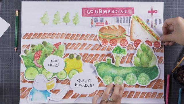 Histoires de Brouhaha: Le train de la gourmandise (épisode 24) [Maou - RTS]