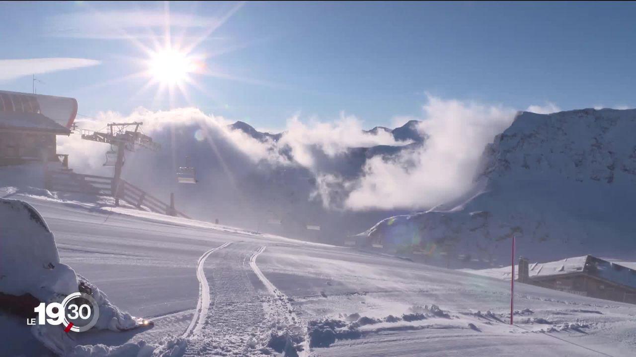 La France se prépare à un hiver sans ski au grand dam des stations du pays. [RTS]