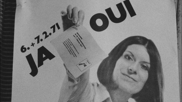 Droit de vote des femmes: la campagne de l'Association pour le suffrage féminin [RTS]