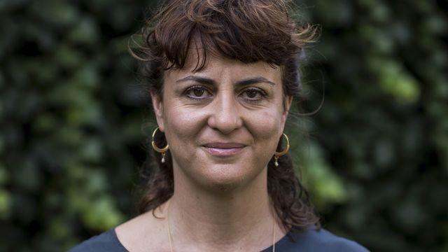 Andrea Staka, ici en 2018 à Locarno. [Alexandra Wey - Keystone]