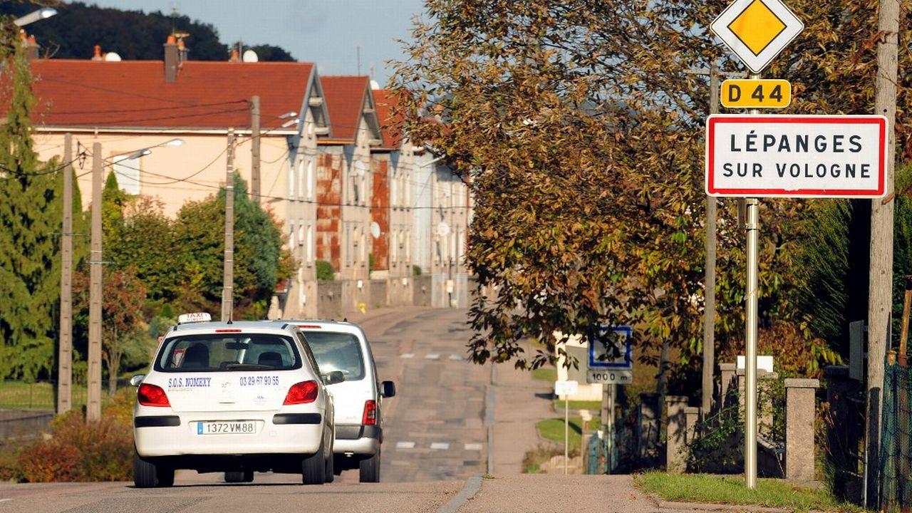 Lépanges-sur-Vologne, un village sous le feu de l'actualité depuis la mort du petit Grégory en 1984. [Frederick Florin - AFP]