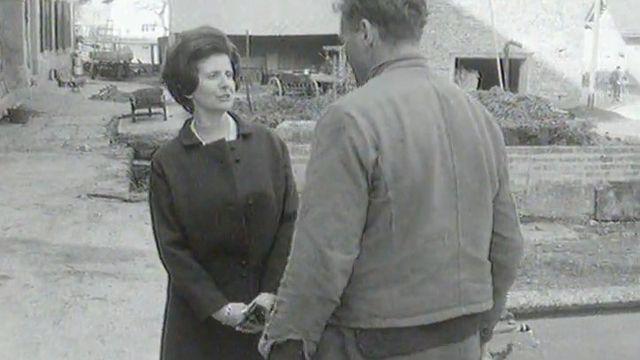 Jacqueline Guisolan milite dans la Broye pour le suffrage féminin, 1969 [RTS]