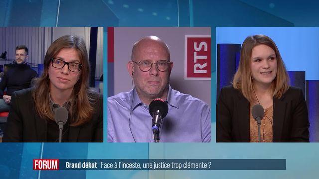 Le débat - Face à l'inceste, une justice trop clémente? [RTS]