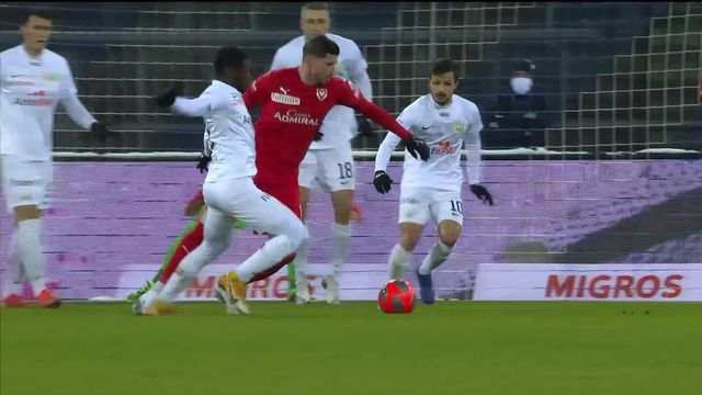 Super League, 16e journée: Zurich - Vaduz (0-1) [RTS]