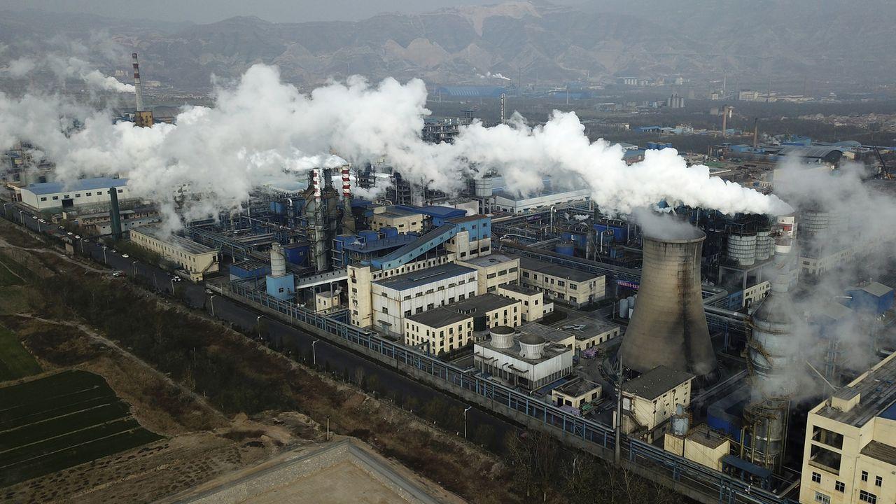 Les entreprises du secteur énergétique chinois sont pour l'instant les seules concernées. [Sam McNeil - Keystone/AP Photo]