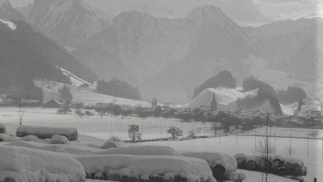 La vie en Guyère en hiver [RTS]