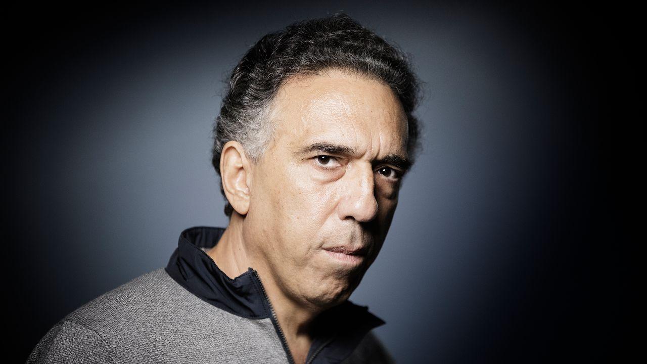 L'écrivain libanais Charif Majdalani à Paris le 13 septembre 2017. [JOEL SAGET - AFP]