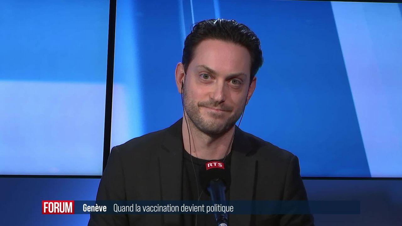 Genève: Quand la vaccination devient politique [RTS]
