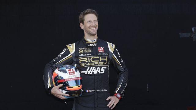 Romain Grosjean poursuit sa carrière dans le sport automobile. [Rick Rycroft - Keystone]