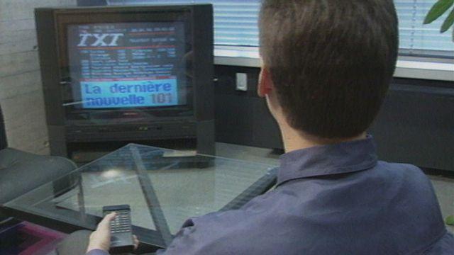 Le Teletext un outil d'information moderne. [RTS]