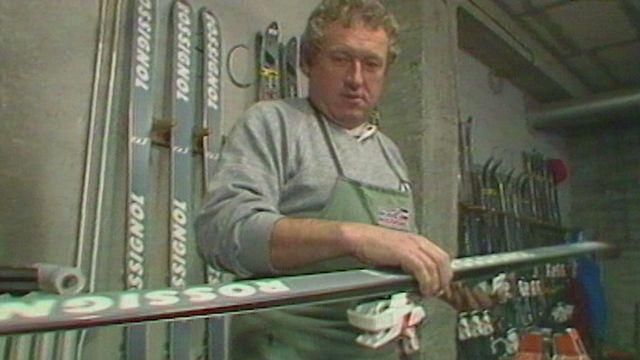 Jean-Pierre Ansermoz : le complice des skieuses suisses [RTS]