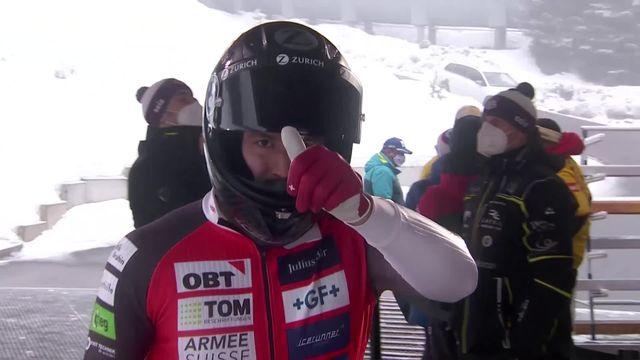 Altenberg (GER), Bob à 2 messieurs, 1re manche: le duo Vogt-Michel (SUI) termine 2e [RTS]