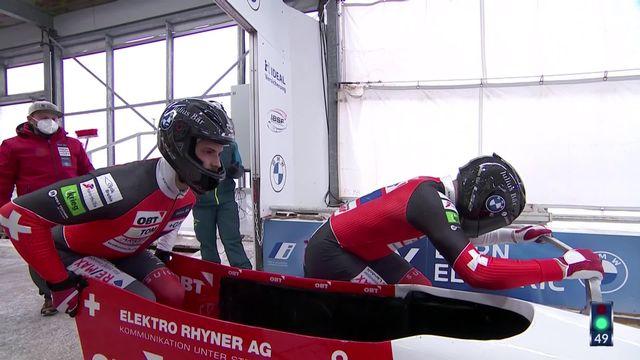 Altenberg (GER), Bob à 2 messieurs, 2e manche: belle 3e place pour le duo Vogt-Michel (SUI) [RTS]