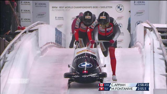 Bob à deux, Altenberg (GER): 10e place provisoire pour les Suissesses, podium possible pour les messieurs [RTS]