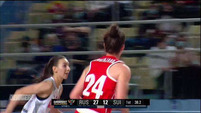 Basket, Qualifs Euro 2021: Russie - Suisse (103 - 47) [RTS]