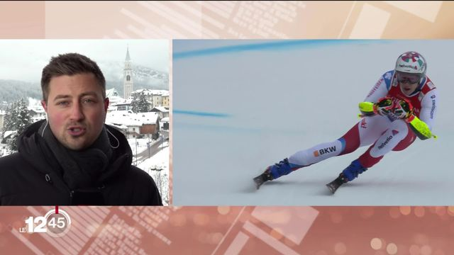 Aux Mondiaux de ski alpin à Cortina d'Ampezzo, on attend beaucoup de la délégation suisse. [RTS]
