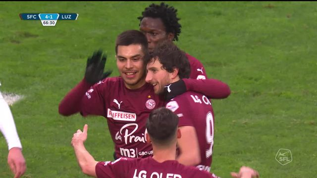 19e journée, Servette FC - Lucerne (4-2): tous les buts de la rencontre [RTS]