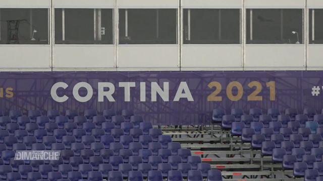 Ski: mondiaux de Cortina, les conditions sanitaires sur place. [RTS]