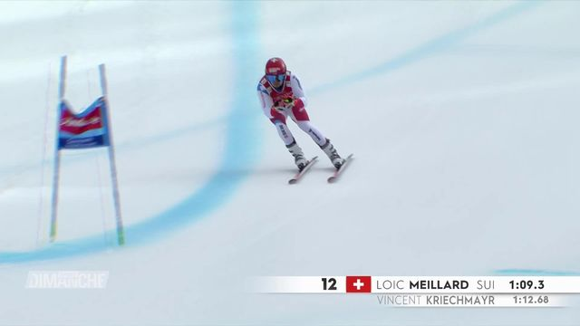 Ski: mondiaux de Cortina, les espoirs Suisses. [RTS]