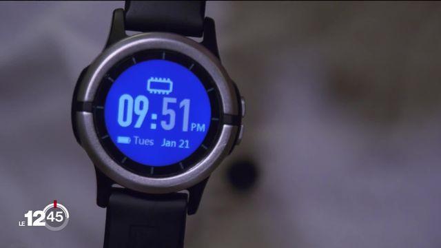 Une montre connectée pour prévenir les crises d'épilepsie. [RTS]