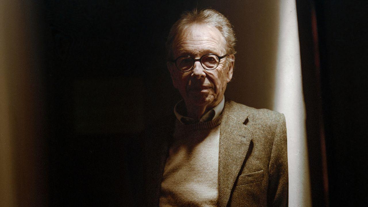 Le poète Philippe Jaccottet le 25 mars 2008 à Zurich. [Ayse Yavas - Keystone]
