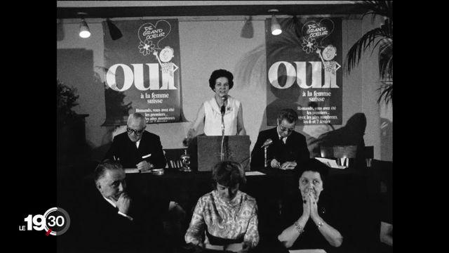 """Série """"Génération 71"""": les pionnières du droit de vote des femmes [RTS]"""