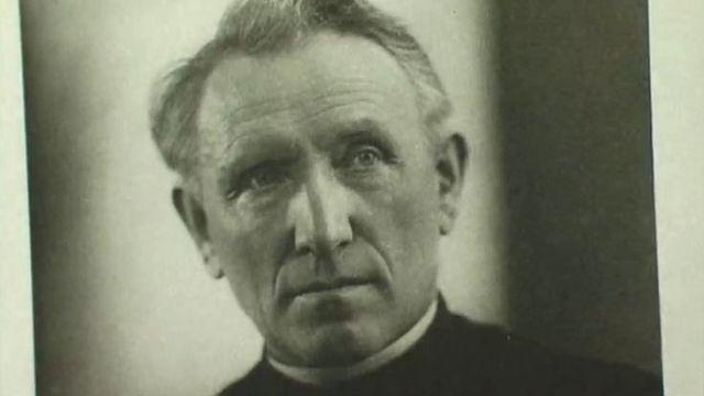 L'abbé Joseph Bovet, compositeur et chef de choeur fribourgeois. [RTS]