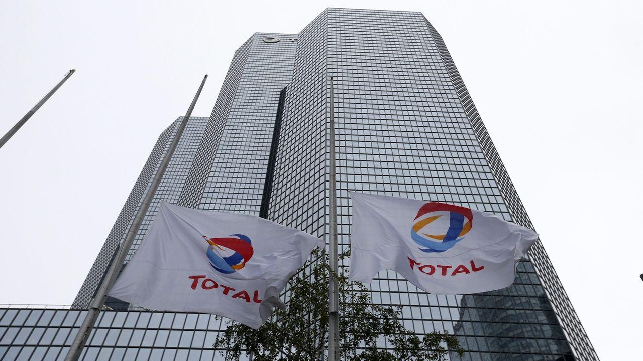 Le siège de Total à Paris. [EPA/Ian Langsdon - Keystone]