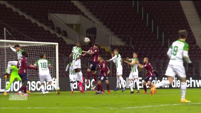 15e journée, Servette FC - St-Gall (2-2): tous les buts de la rencontre [RTS]