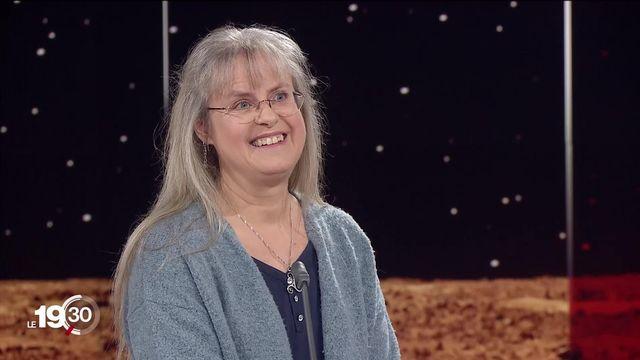"""""""Hope"""" et """"Tianwen-1"""" en orbite martienne. Les explications de l'astrophysicienne Sylvia Ekström. [RTS]"""