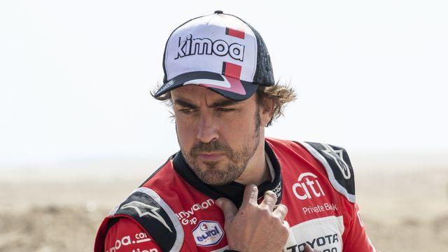 Alonso sera-t-il remis à temps pour le coup d'envoi de la saison, le 28 mars à Bahreïn? [Andre Pain - Keystone]