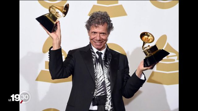 Le pianiste Chick Corea est décédé à 79 ans. La légende américaine du jazz a reçu 23 Grammy Awards dans sa carrière [RTS]