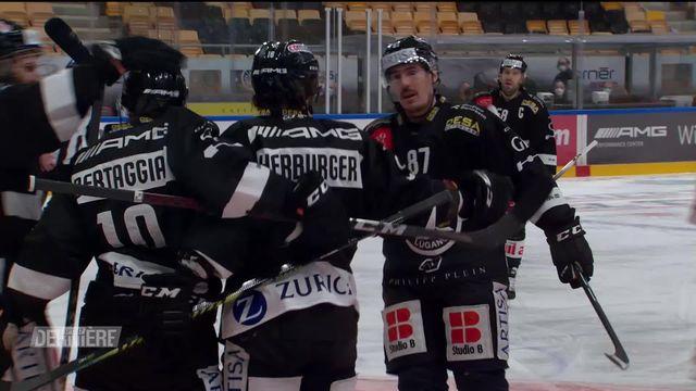National League, 28e journée: Lugano - Fribourg (3-2 ap) [RTS]