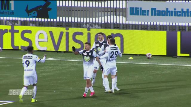 Challenge League, 20e journée: Wil - Stade Lausanne Ouchy (2-0) [RTS]