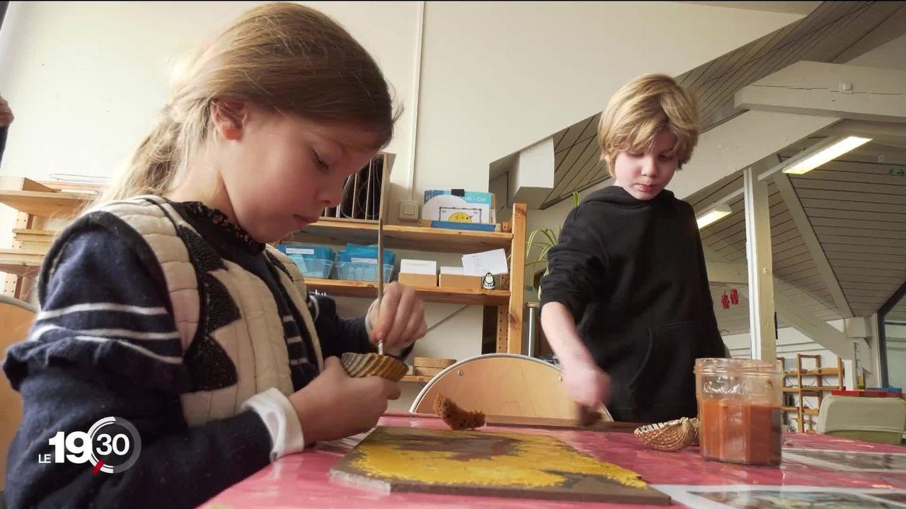 Le Laténium de Neuchâtel sort de ses murs pour proposer des ateliers didactiques et créatifs aux élèves [RTS]