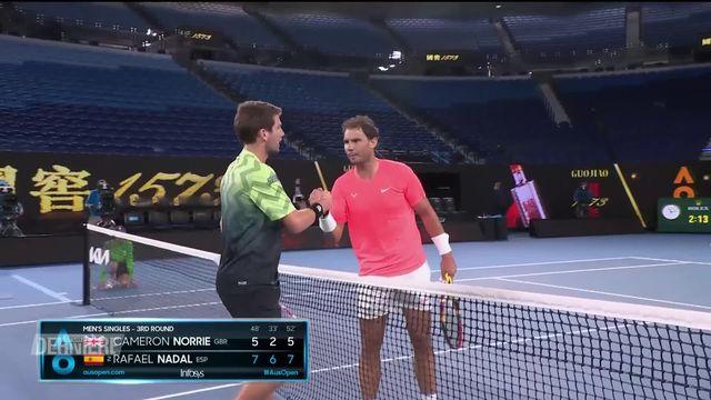 Tennis: Open d'Australie [RTS]