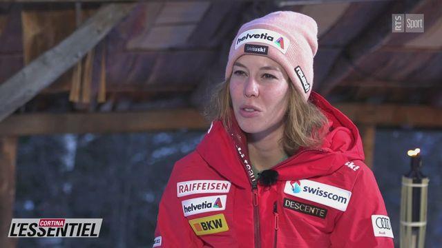 Ski - Charlotte Chable, l'interview: avec Michelle Gisin (intégrale) [RTS]