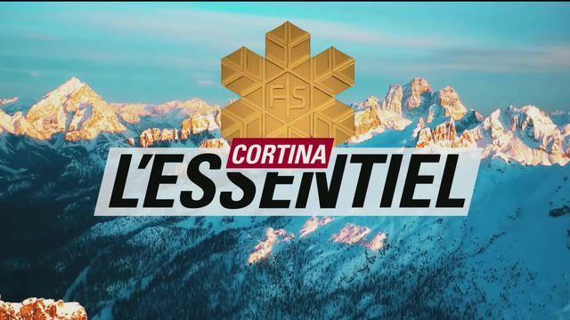 Cortina: L'essentiel - Lundi 15 février [RTS]