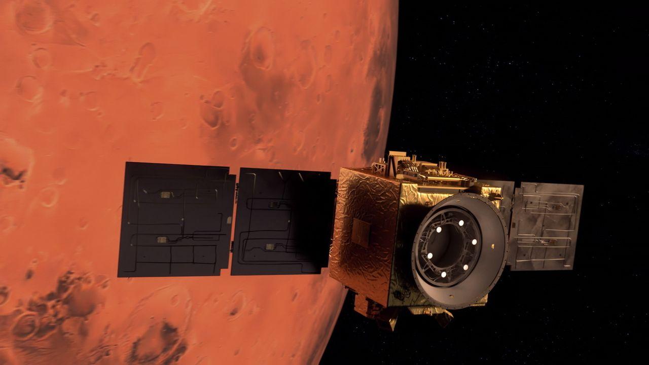 C'est la ruée vers la planète Mars. [UAE Space Agency - EPA]