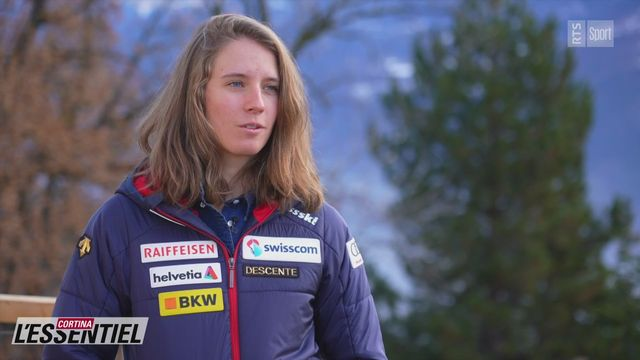 Ski - Charlotte Chable: avec Camille Rast (intégrale) [RTS]