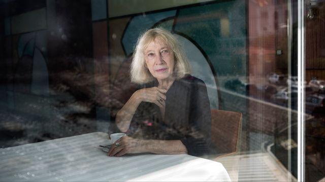 L'écrivaine Chantal Thomas. [Caroline Chevalier]