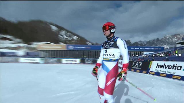 Cortina (ITA), Slalom parallèle messieurs 1-4: Meillard (SUI) passe en 1-2 pour 24 centième [RTS]