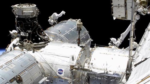 Les futurs astronautes recrutés par l'ESA seront amenés à voler vers la station spatiale internationale (ISS). [NASA via AP - Keystone]